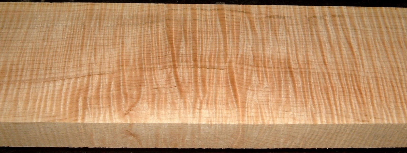 QS2001-8, 1-5/16x5x32, Quartersawn Curly Maple
