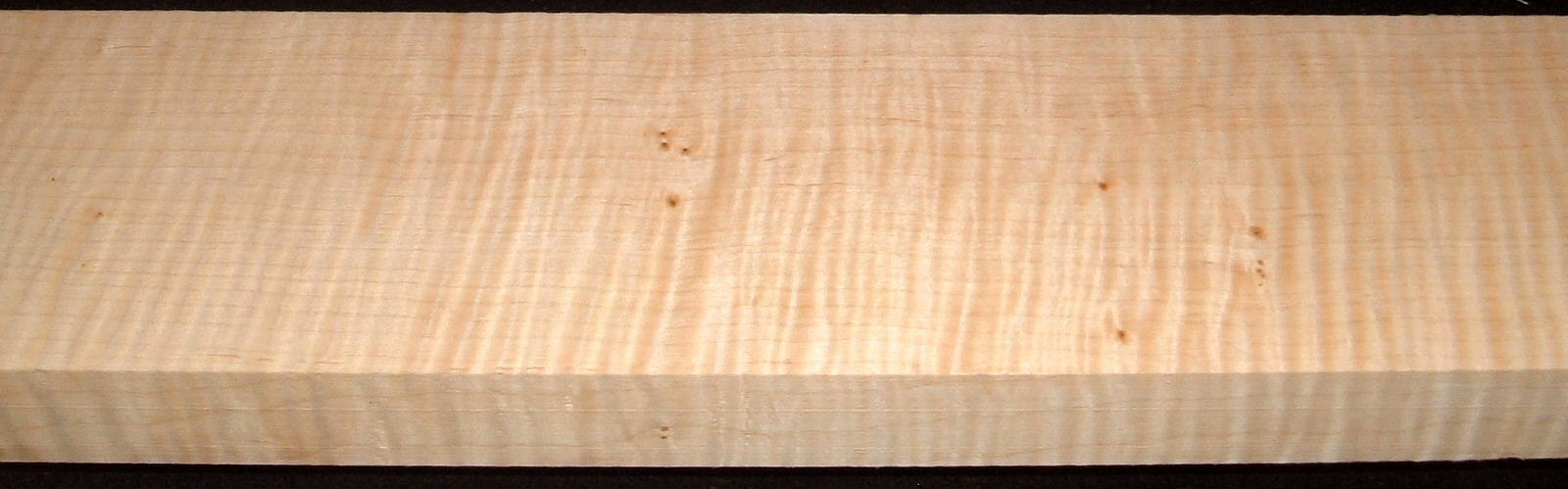 QS2005-16, 1-3/16x3-3/4x47, Quartersawn Curly Maple