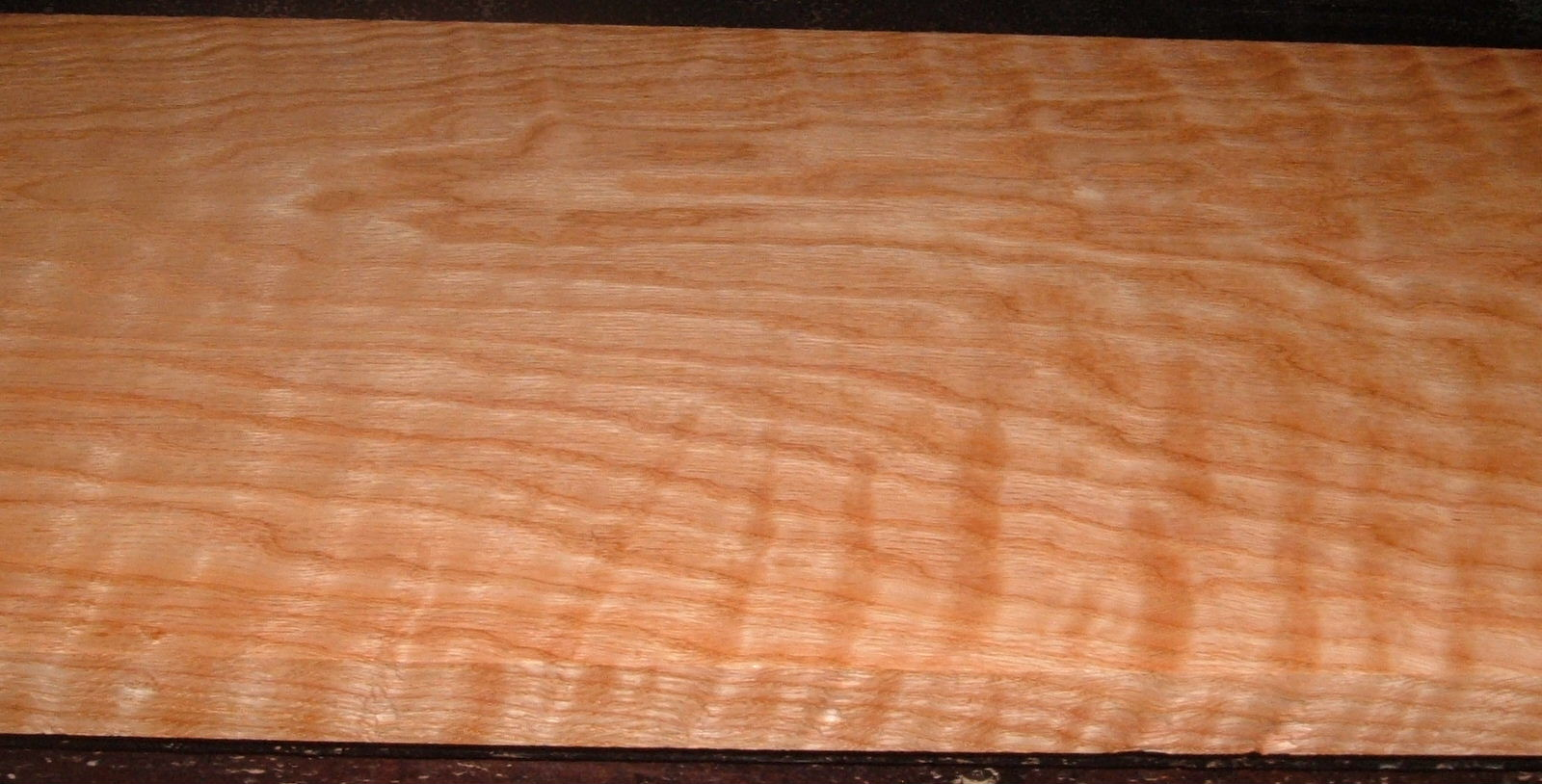 RO2102-14, Curly Figured Tiger Red Oak,1-1/16x11x83