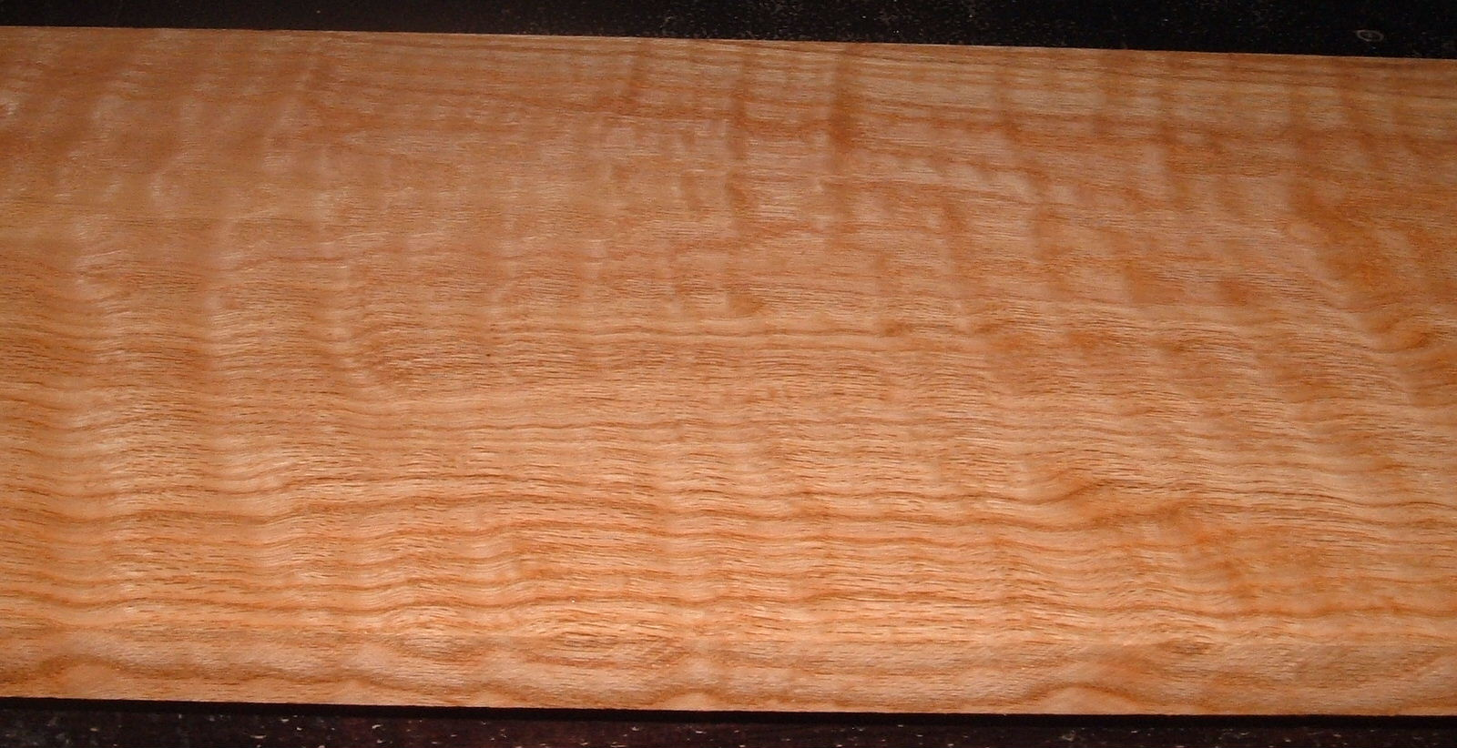 RO2102-5, Curly Figured Tiger Red Oak,1x11-1/4x43