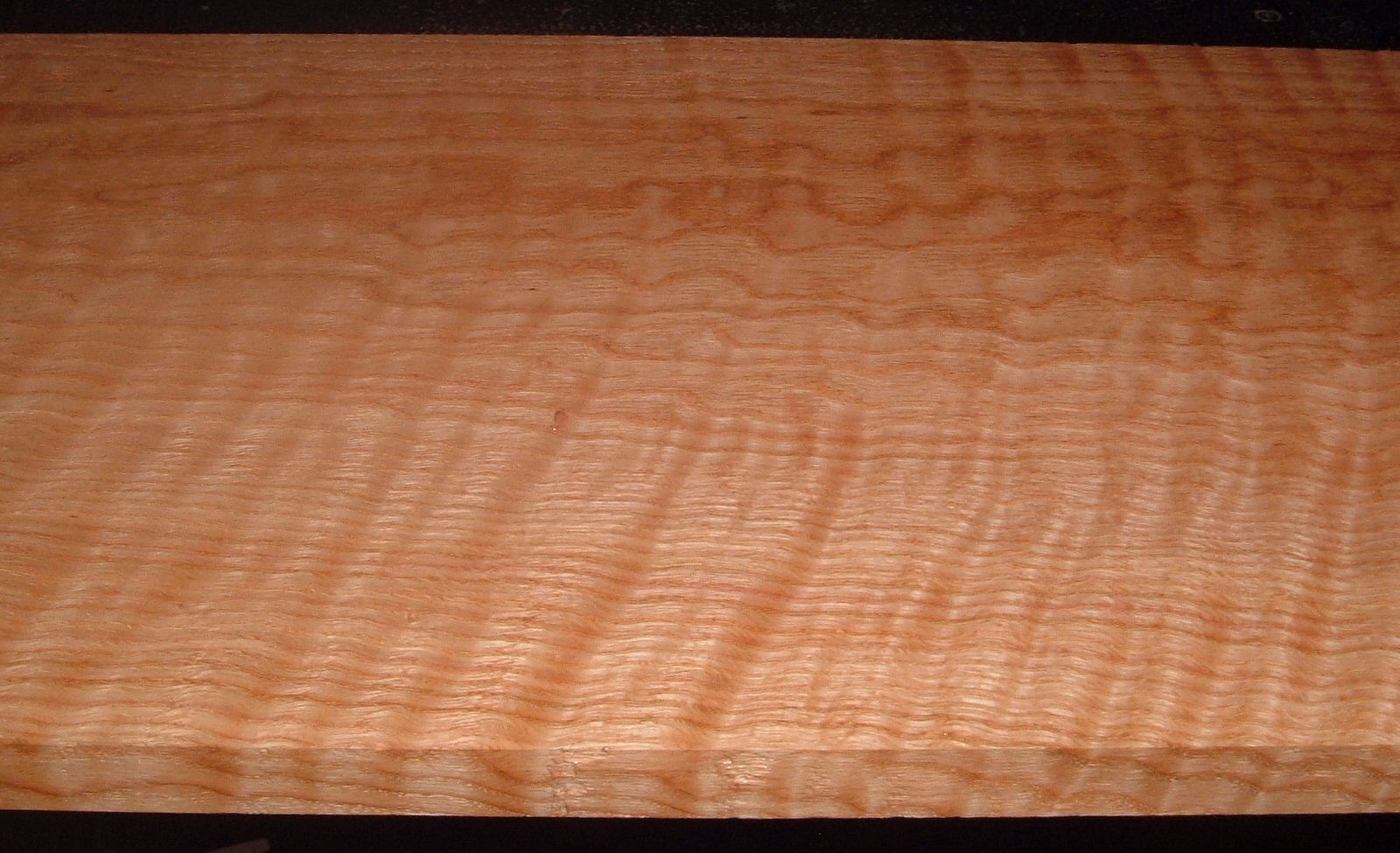RO2102-9, Curly Figured Tiger Red Oak,1x12-1/2x42
