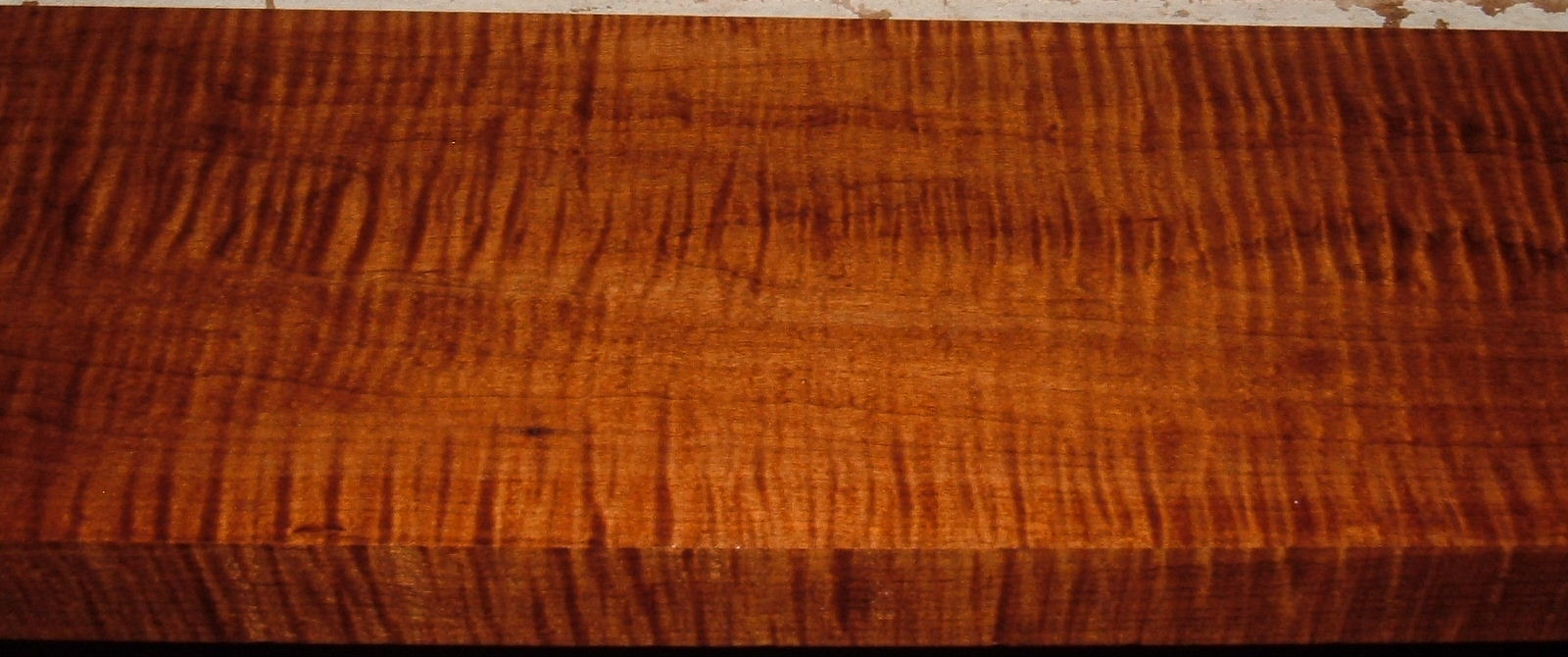RHM1908-50, 1-1/4x5-1/2x34, Roasted Torrefied, Curly Tiger Hard Maple