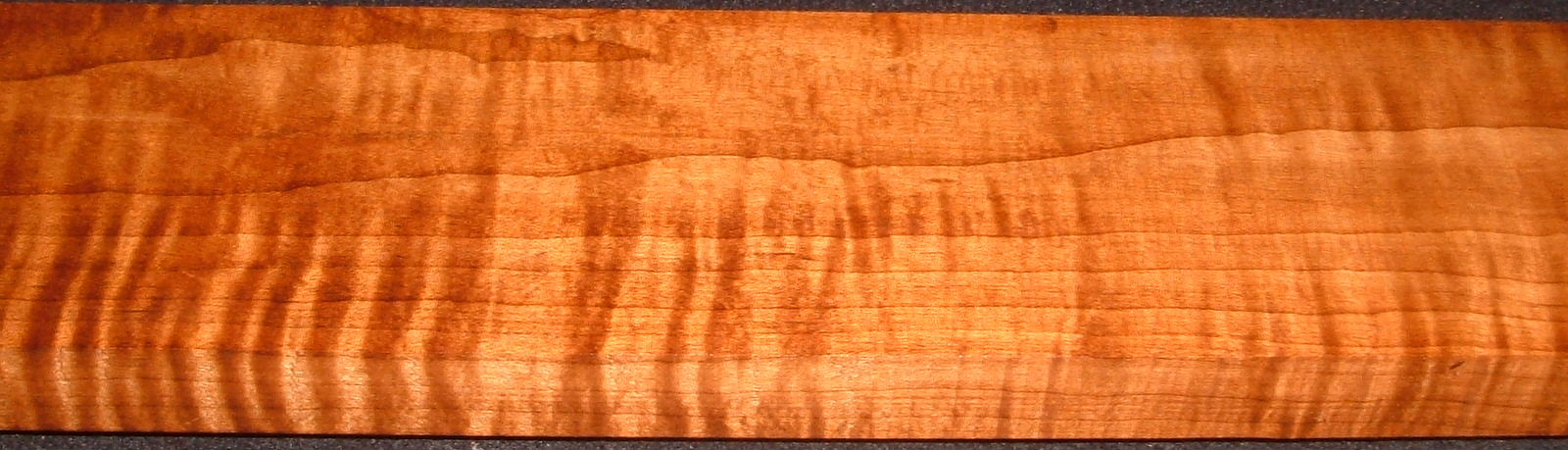 RHM2010-323,  1-1/16x4x45, Roasted Torrefied Curly, Tiger Maple, Roasted Hard Maple