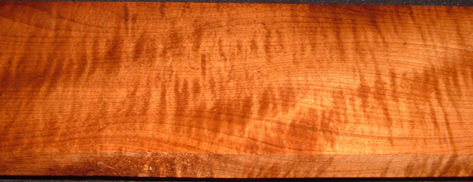 RHM2010-332,1x5-1/2x42, Roasted Torrefied Curly, Tiger Maple, Roasted Hard Maple
