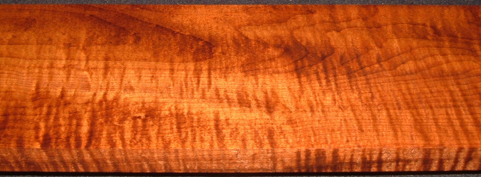 RHM2010-333,1-1/16x5-1/2x39, Roasted Torrefied Curly, Tiger Maple, Roasted Hard Maple