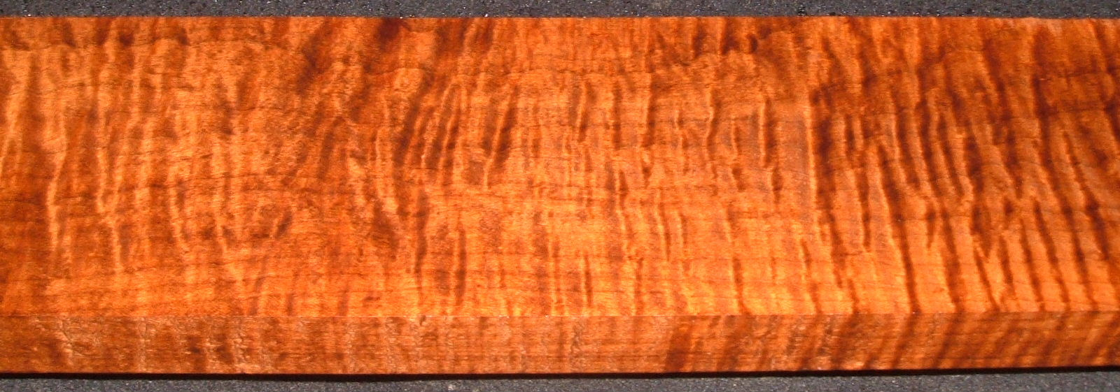 RHM2010-338,1x4-1/2x34, Roasted Torrefied Curly, Tiger Maple, Roasted Hard Maple