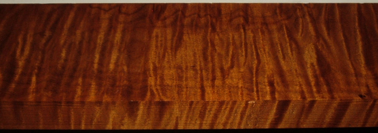 RM2004-101, 1-7/16x4-3/4x46, Roasted Torrefied Curly, Tiger Maple