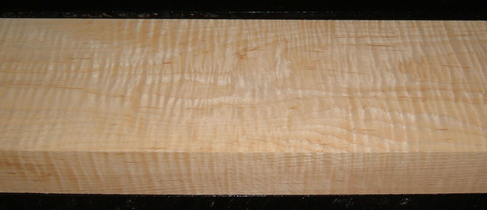 S-2144, 1-7/8x6x31, Curly Tiger Maple