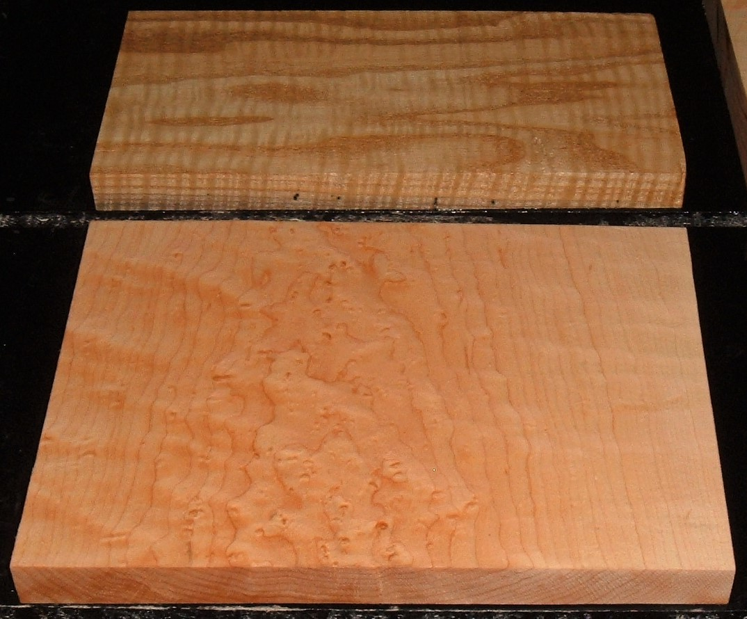 HP-2377Y, Variety of Figured Hardwoods Lumber Craft Board Hobby Pack