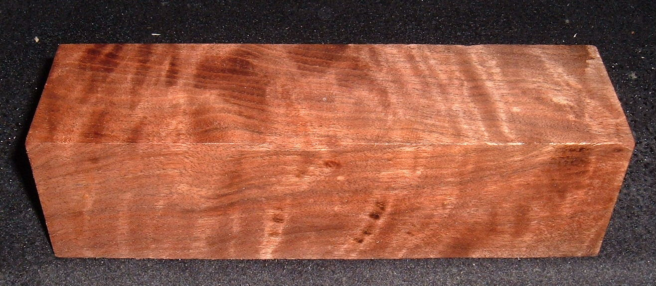 BWS-2756,+2-1/4x+2-1/4x8+, Curly Black Walnut