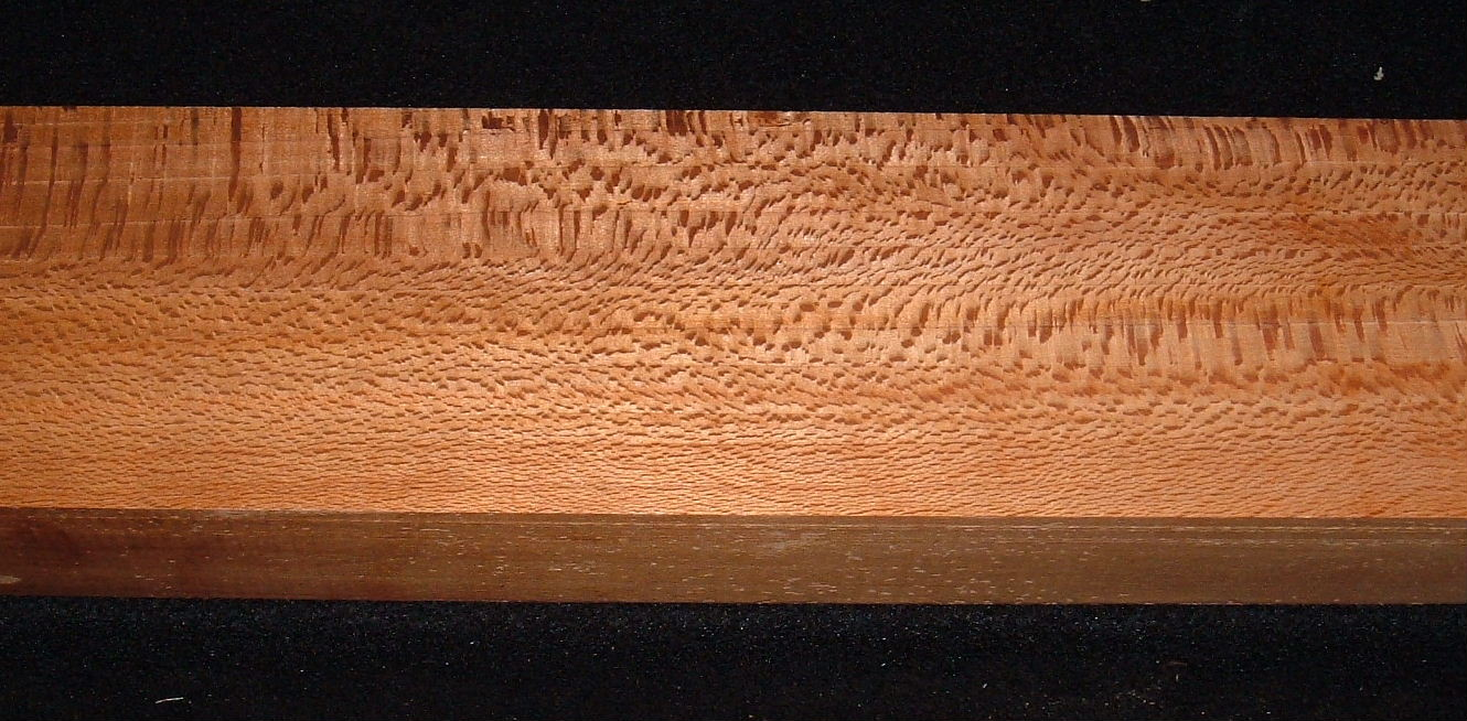 RSYCS-3152, 1-11/16x3-1/2x19+, Roasted Torrefied, QuarterSawn Sycamore Lacewood