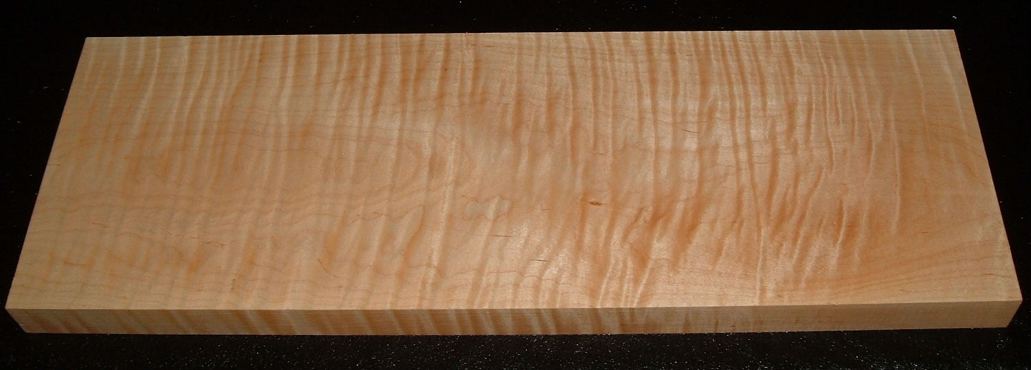 S-1868, 1-5/8x8-1/4x24+, Curly Tiger Maple