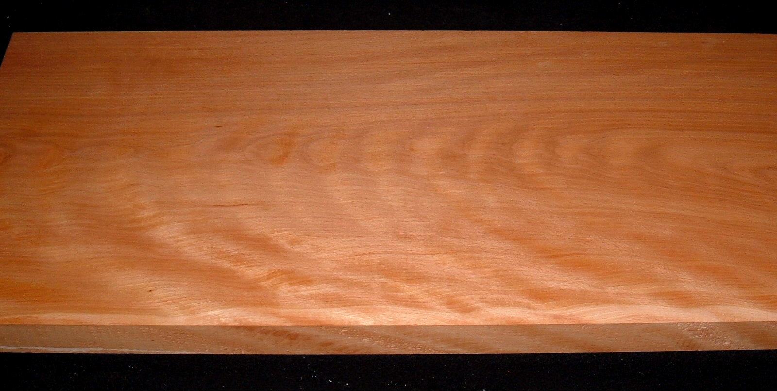 S-2480, 1-5/8x11-3/8x26+, 7/4 Curly Figured Beech Wood