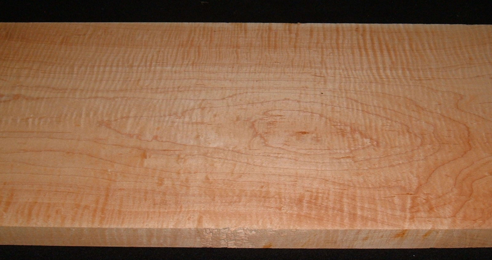 S-2493,11-1/16x10x24, Curly Hard Tiger Maple