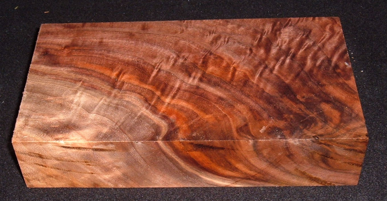 S-2522e, 1-13/16x4-3/4x9, 8/4 Curly Black Walnut, Turning Wood