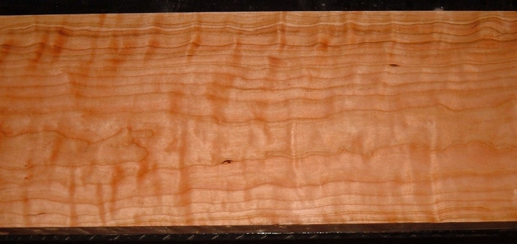 C2006-122JJ, 1-5/8x9x47, Curly Figured Cherry