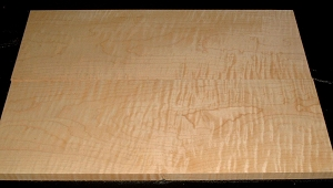 S-1931, 2 Bd Set, (2) +3/4x7-7/8x22 Curly Tiger Maple