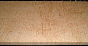 HM1902-32, 2 Bd Set 13/16x4-3/4x40, 3/4x4-3/4x40, Curly Tiger Hard Maple