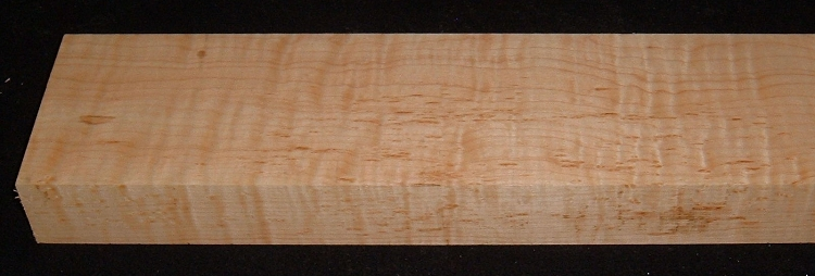 S-2472, 1-7/8x4-1/2x30, Curly Hard Tiger Maple
