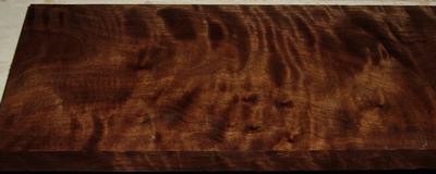 BW2003-17, 15/16x5-1/4x39, Curly Figured Black Walnut