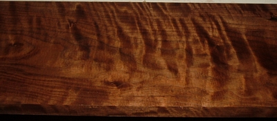 BW2003-25, 13/16x7x49, Curly Figured Black Walnut