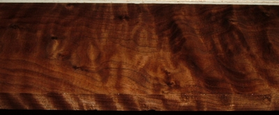 BW2003-27, 3/4x5-1/4x52 Curly Figured Black Walnut