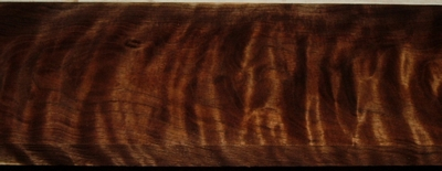 BW2003-29, 7/8x5-1/4x24, Curly Figured Black Walnut