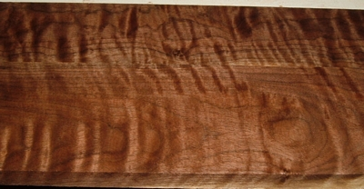 BW2003-4, 2 BD Set, 7/8x3-1/4x32 ,7/8x4-1/2x32, Curly Figured Black Walnut