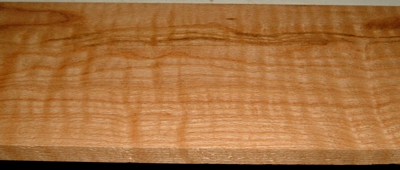 RO2003-3L, 7/8x8x72, Curly Figured Tiger Red Oak