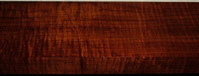 RHM2003-61, 1-3/8 x4-1/4x39, Roasted Torrefied, Curly Tiger Hard Maple