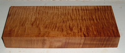 S-2225e,  1-3/4x4-1/2x11-3/4,  Curly Tiger Roasted Maple, Turning Block
