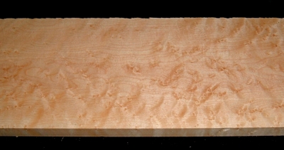 S-2257, 11/16x5-1/2x24, 4/4 Figured Birdseye Maple