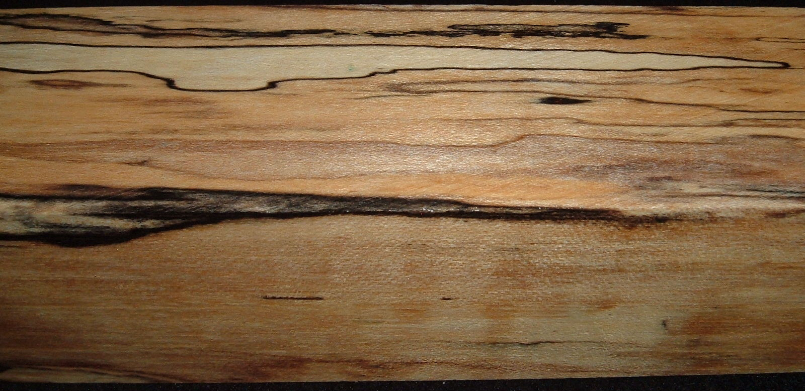 Z314, 1-5/8x1-5/8x6-1/4 ,Clear, Spalted Maple Dyed Stabilized, wood turning block