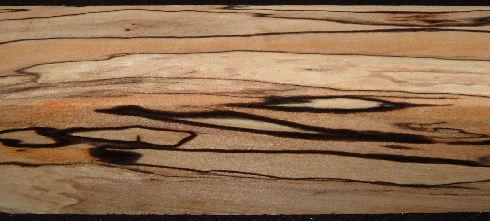 Z325, 1-3/4x1-3/4x7-1/4 ,Clear, Spalted Maple Dyed Stabilized, wood turning block