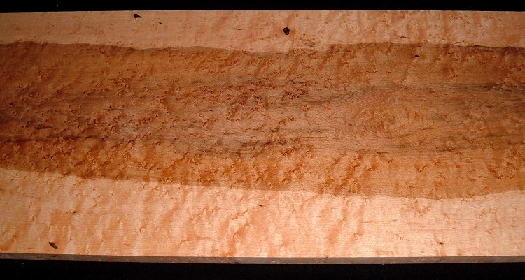 BEM2101-20, 13/16x12x38, Quilted Birdseye Hard Maple