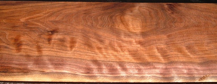 BW2101-18,7/8x8x39, Curly Figured Black Walnut,(Close match to BW2101-19)