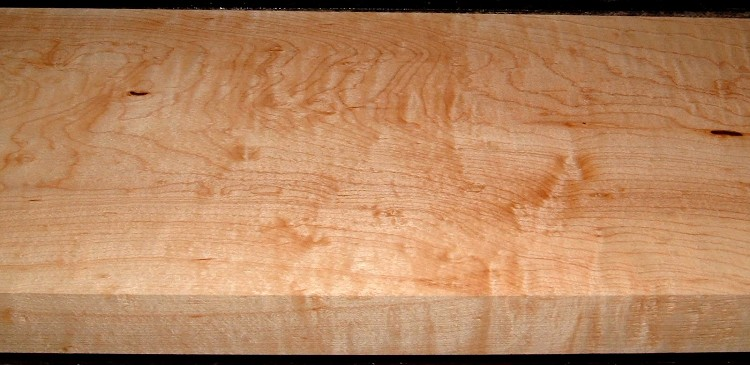HM2007-109, 1-11/16x8x37, 8/4 Blistered Figured Hard Maple