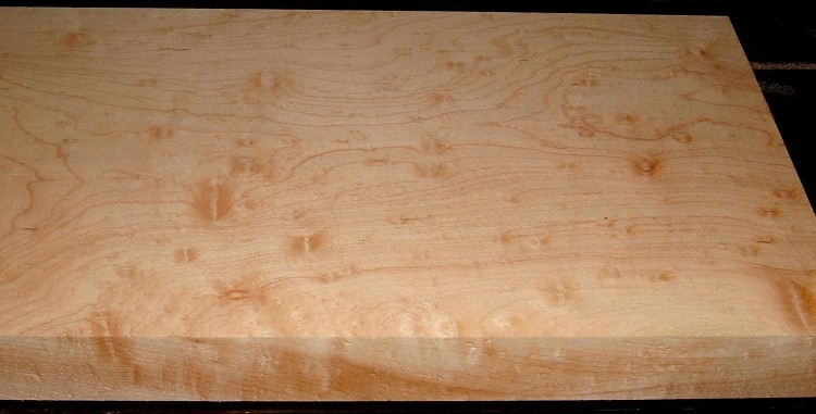 HM2007-116, 1-7/8x11x51, 8/4 Blister Figured Hard Maple