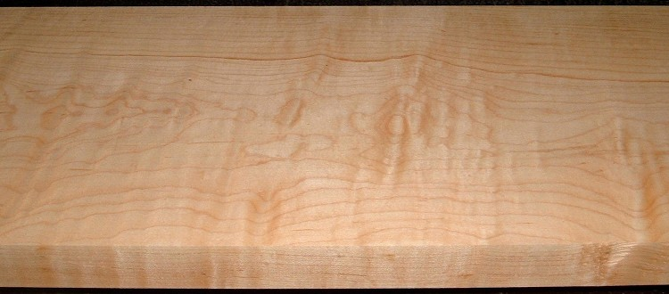HM2101-89, 1-7/16x9-3/4x53, Curly Tiger Hard Maple,Matches boards HM2101-88,-90, -98