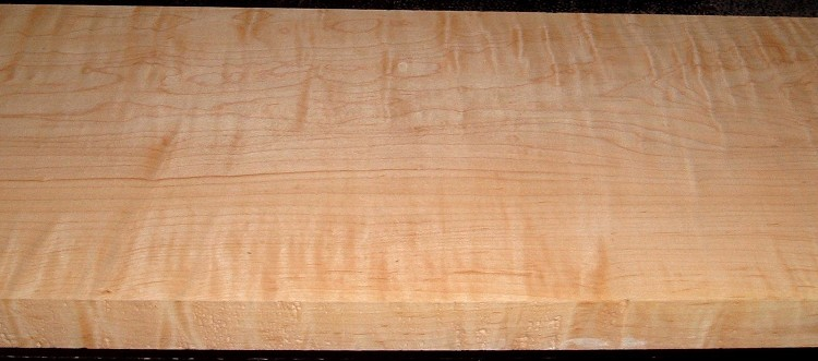 HM2101-98, 1-7/16x9-3/4x56, Curly Tiger Hard Maple,Matches boards HM2101-88 ,-89 ,-90
