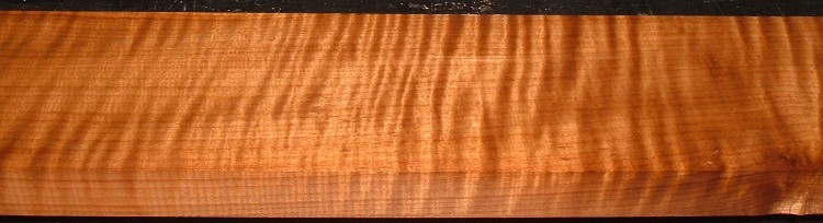 QRM2101-20JK, 1-3/16x4-1/4x46, Quartersawn Roasted Curly Maple