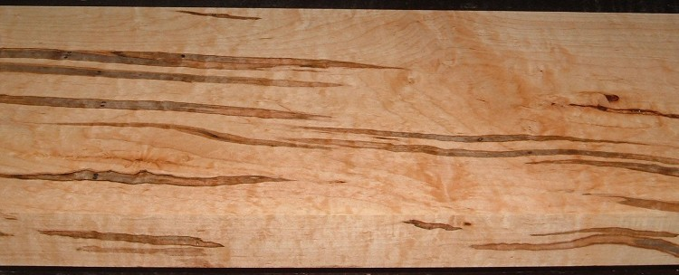AM2005-104, 1-13/16x8-1/4x59, Curly Tiger Ambrosia Wormy Maple