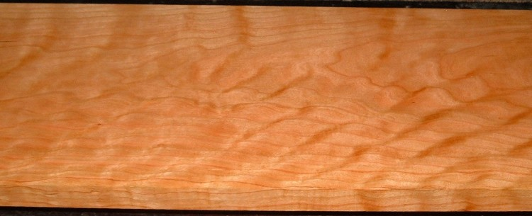 C2004-78,15/16x8-1/2x47, Curly Figured Cherry