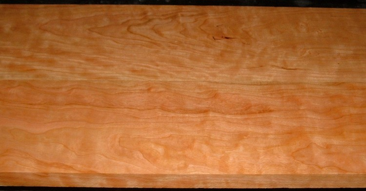C2004-88,15/16x5-1/4x52, 15/16x6-1/4x52 , Curly Figured Cherry, (cut from same plank)