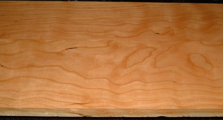 C2004-93,15/16x4-3/4x35, 7/8x5-3/4x35 , Curly Figured Cherry, (cut from the same plank)
