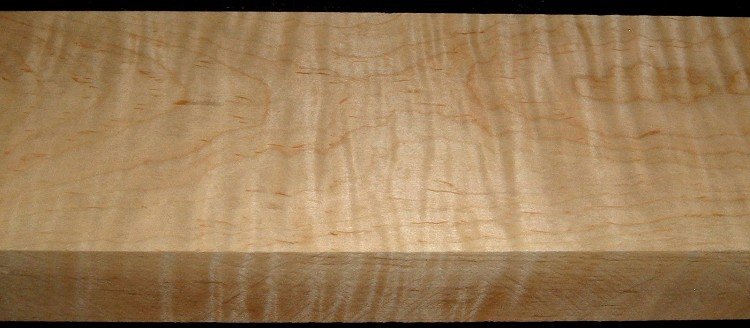 M1912-485, 1-3/4x4-1/2x32, Curly Tiger Maple