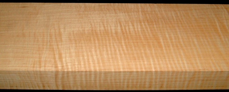 M1912-489, 1-13/16x5-1/2x47, Riftsawn, Curly Tiger Maple
