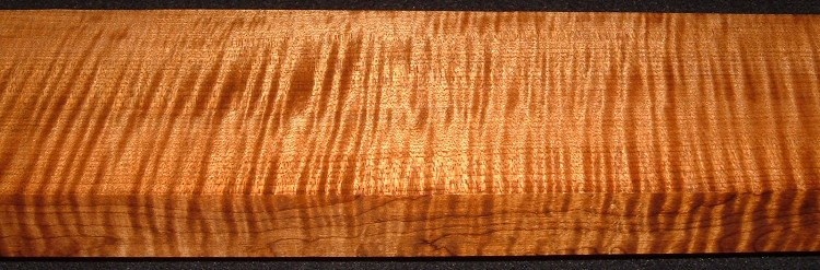 QRM2008-209, +1-3/16x3-5/8x43, Quartersawn Roasted Curly Maple