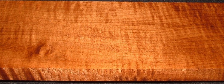 RHM2010-334,1x5-1/4x39, Roasted Torrefied Curly, Tiger Maple, Roasted Hard Maple
