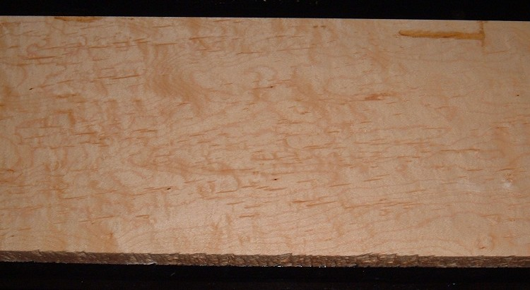 S-2148, 15/16x7-1/8x42 Mineral Streaked Hard Maple